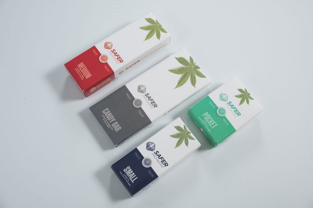 Child Safe Cannabis Packaging - Safer Packaging