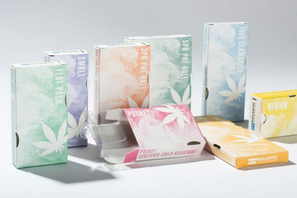 Atlantic Packaging Cannabis Stock Boxes