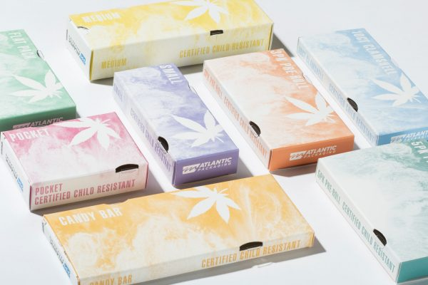 Atlantic Packaging Cannabis Stock Cartons